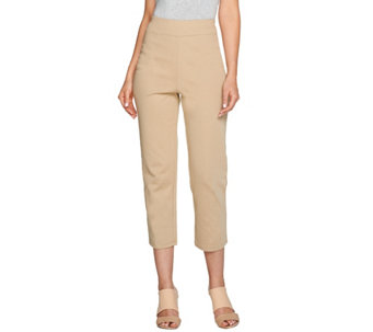 Bob Mackie's Pull-On Knit Crop Pants - A276146