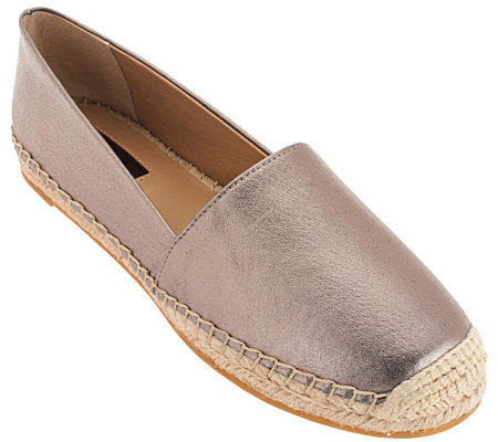 """As Is"" G.I.L.I Leather Espadrilles - Sandie"