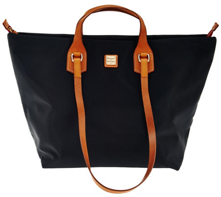 """As Is"" Dooney & Bourke Extra Large Windham Nylon Leighton Tote"