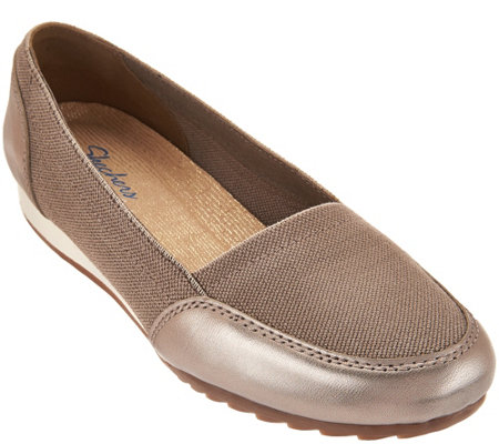 """As Is"" Skechers Relaxed Fit Slip-On Shoes - Rome Alla Mode"