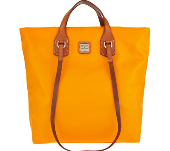 """As Is"" Dooney & Bourke Windham Nylon North/South Leighton Tote - A287946"