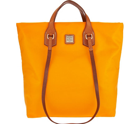 """As Is"" Dooney & Bourke Windham Nylon North/South Leighton Tote"