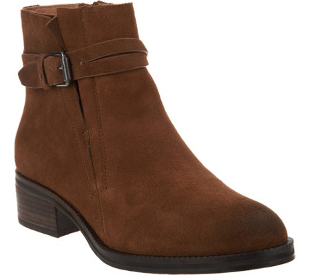 Gentle Souls Leather or Suede Ankle Boots - Percy