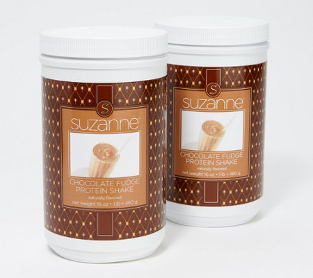 SUZANNE Set of 2 Protein Shakes