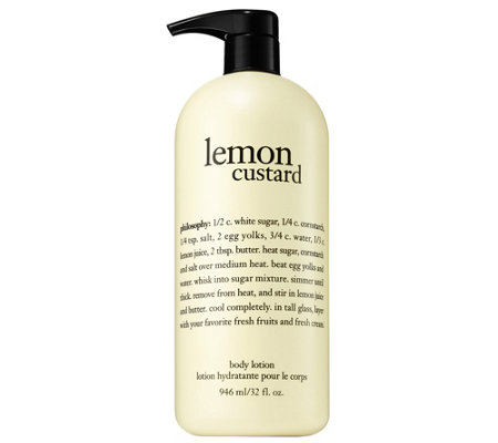 philosophy lemon custard body lotion 32 oz