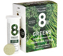 8Greens Effervescent Drink Tablets 60 Count Auto-Delivery - A303846