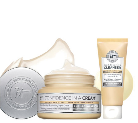 IT Cosmetics Confidence in a Cream Antiaging Moist.&Cleanser Auto-Delivery