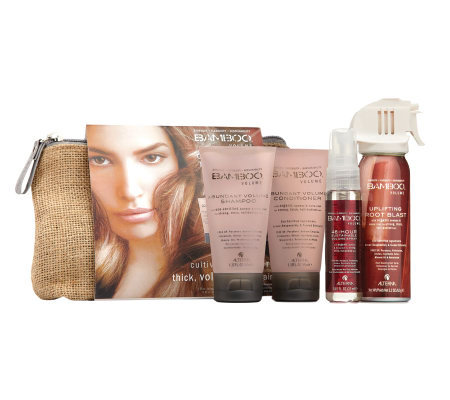 Alterna Bamboo Volume On-The-Go Travel Set