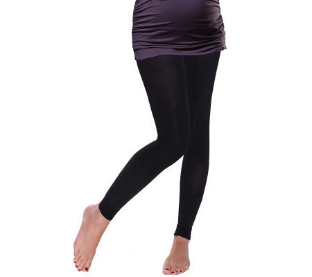 Preggers Maternity Leggings with Light GradientCompression