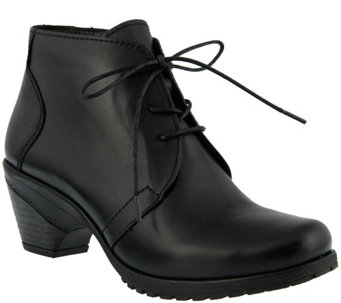 Spring Step Leather Chukka Bootie - Efisio - A355746