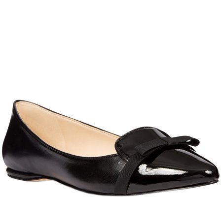 Nine West Leather Flats - Saxiphone
