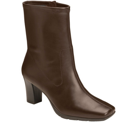 Aerosoles Mid Calf Stretch Booties - Geneva 2