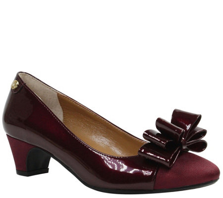 J. Renee Mid Heel Pumps - Prattsi