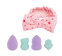 The Vintage Cosmetic Company Applicator Set with Headband - A365146