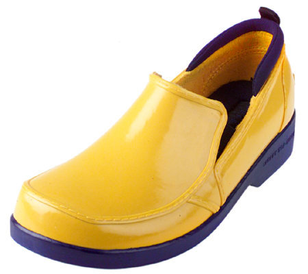 sperry top sider slip on duck shoes qvc