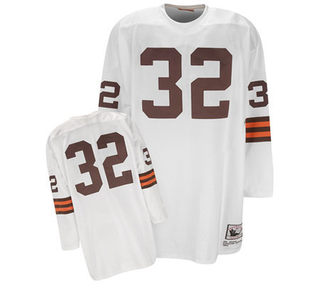 NFL Cleveland Browns 1964 Jim Brown Authentic Throwback ...