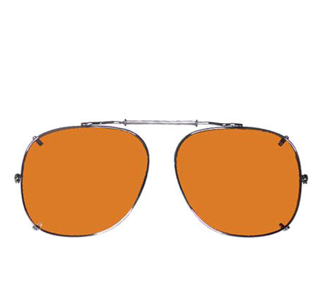 BluBlocker Polarized Square Springer Clip-Ons