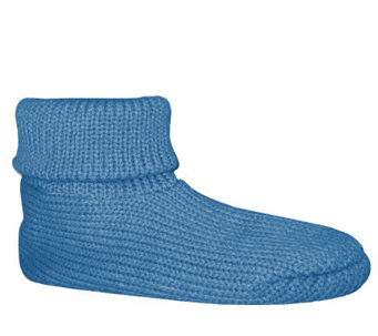 Soft Ones Women's Cuff Slipper Socks w/ Anti-Skid - A207047