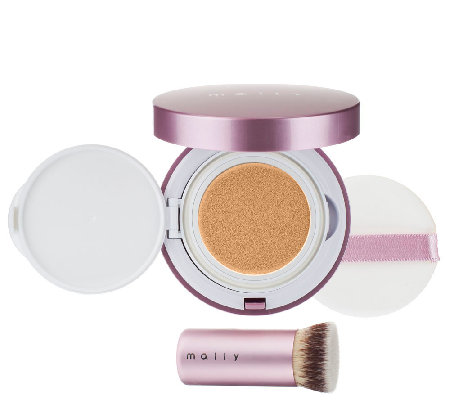 Mally Poreless Perfection FluidFoundation with Brush