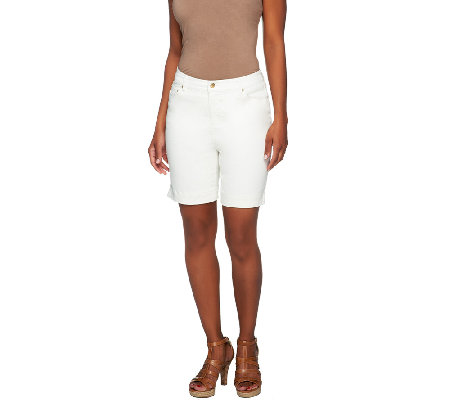 "Liz Claiborne New York Jackie 5 Pocket 7"" Inseam Shorts"