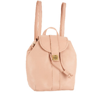 Isaac Mizrahi Live! Bridgehampton Leather Backpack - A262947