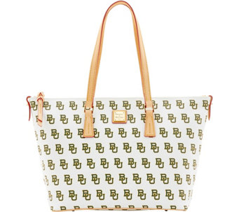 Dooney & Bourke NCAA Baylor University Zip Top Shopper - A283247