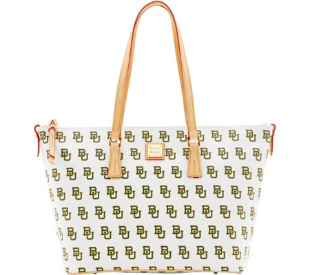 Dooney & Bourke NCAA Baylor University Zip Top Shopper