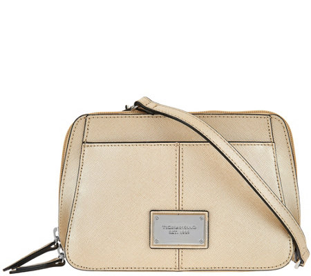 """As Is"" Tignanello Saffiano Convertible RFID Bag"