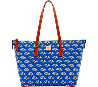 Dooney & Bourke NFL Ravens Shopper - A285847