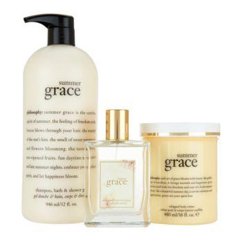 philosophy super-size summer fragrance layering trio