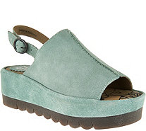 FLY London Leather Platflorm Sandals - Bora - A290447