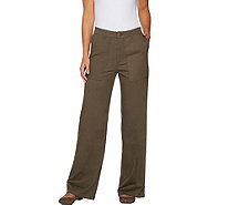 Lisa Rinna Collection Wide Leg Pants - A295847