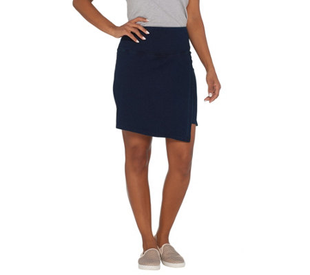 Women with Control Regular Tummy Control Prime Stretch Denim Skort