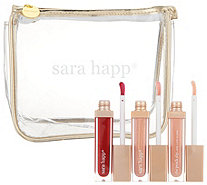 Sara Happ 3 one Luxe Lip Slips with Bag - A305747