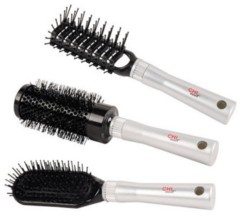 CHI Smart Hair Brushes - Set of 3 - A330947