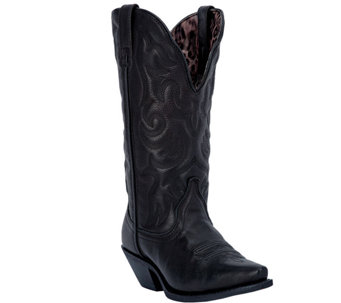 Laredo Leather Cowboy Boots - Access - A335447