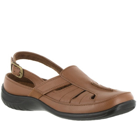 Easy Street Comfort Clogs with Backstrap - Splendid