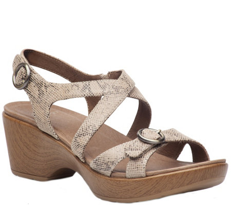 Dansko Leather Sandals - Julie