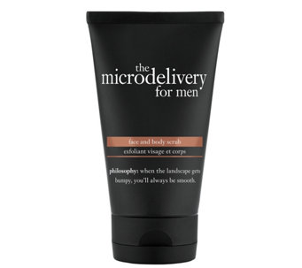 philosophy the microdelivery for men face and body scrub, 5 oz - A340647