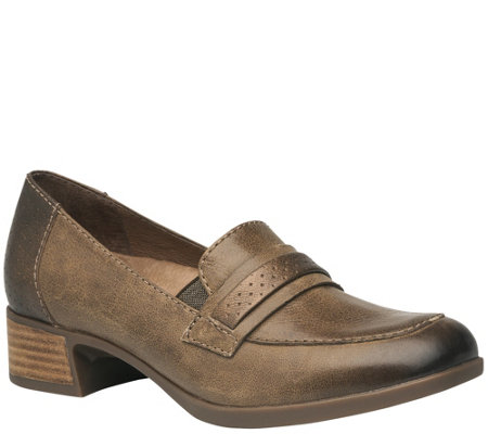 Dankso Leather Slip-on Loafer - Lila