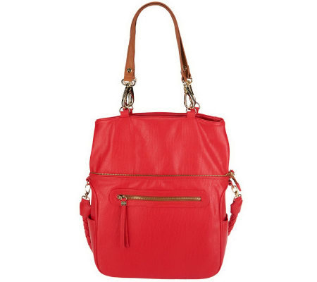 UnderCover Maureen Convertible Hobo with Braided Handle
