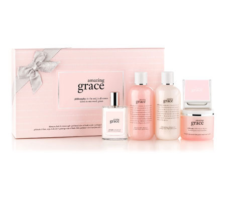 philosophy wrap yourself in grace & love 5-piece deluxe fragrance set