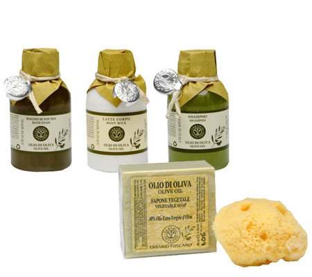 Erbario Toscano Olive Oil Small Gift Set Page 1