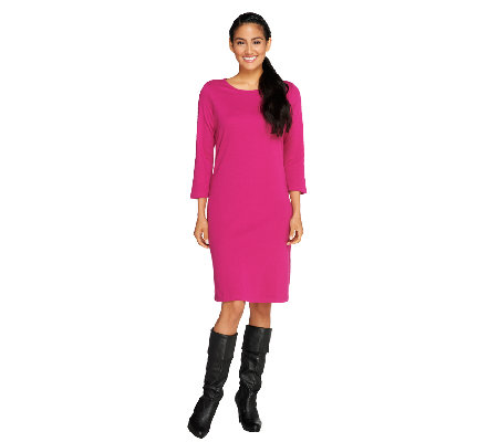 Liz Claiborne New York Regular Essentials Knit Dress