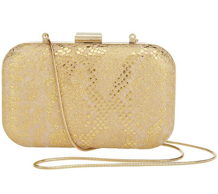 """As Is"" Isaac Mizrahi Live! Bridgehampton Clutch"