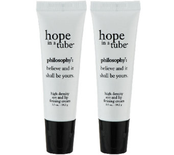 philosophy hope in a tube high density eye and lip cream duo - A260948