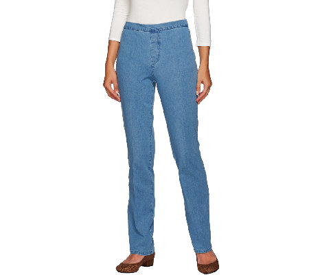 Isaac Mizrahi Live! Tall 24/7 Denim Straight Leg Jeans