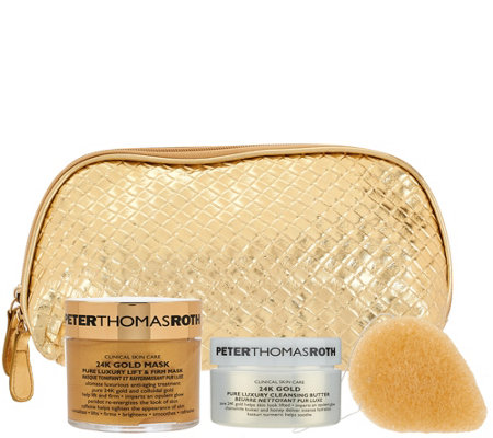 Peter Thomas Roth Gold Kit with Travel Bag