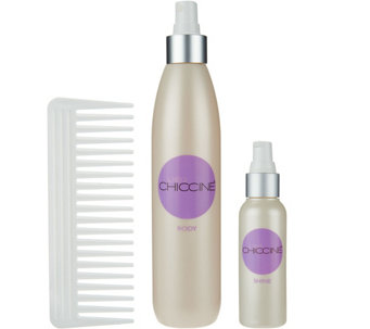 Lisa Chiccine Hair Care Body & Shine Hair Styling Set with Comb - A278548