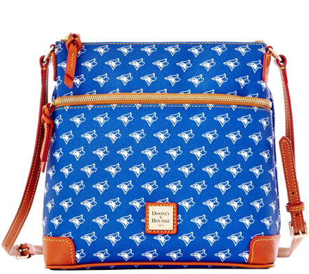 Dooney & Bourke MLB Blue Jays Crossbody